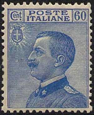 1923 - Effige di Vittorio Emanuele III - volta a sinistra - tipo del 1908