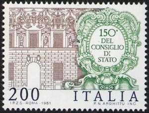150° Anniversario dell'istituzione del Consiglio di Stato - sede del Consiglio