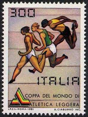 Coppa del mondo di atletica leggera - Roma - fotofinish