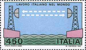Lavoro italiano nel mondo - Ponte radio - Mar Rosso