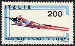 Campionati mondiali di Biathlon - tiro a segno su sci