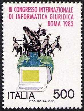 3° Congresso internazionale di informatica giuridica - L. 500