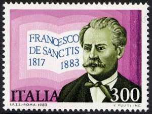 Centenario della morte di Francesco De Sanctis - critico