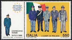 Incontro tra i Corpi di Polizia europei - L. 550