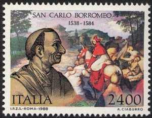 450° Anniversario della nascita di San Carlo Borromeo - ritratto