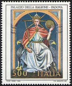 Patrimonio artistico e culturale italiano - Affreschi del Palazzo della Ragione - Padova