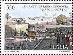 150° Anniversario della inaugurazione della ferrovia Napoli-Portici