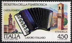 Il lavoro italiano - Industria della fisarmonia - Castelfidardo