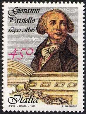 Patrimonio artistico e culturale italiano - 250° Anniversario della nascita di Giovanni Paisiello - musicista