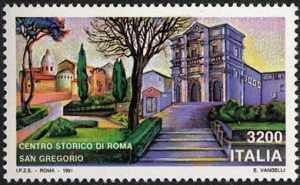 Patrimonio artistico e culturale italiano - Centro storico di Roma  - Chiesa di San Gregorio al Celio