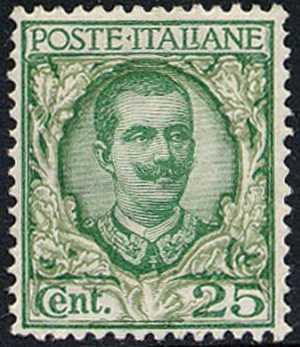 1926 - Francobolli tipo del 1901 «floreale» modificato