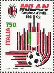 Milan campione d'Italia 1991-92
