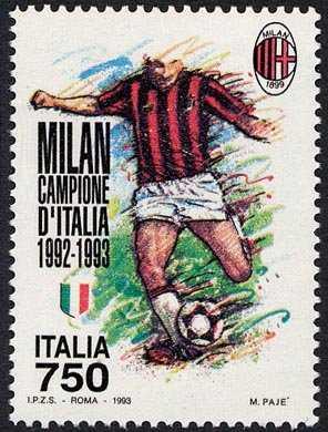 Milan  campione d'Italia 1992-93