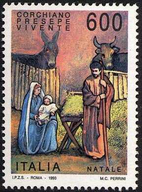 Natale - Presepe vivente di Corchiano  - La Sacra Famiglia