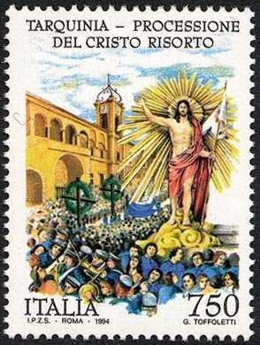 Processione di Cristo Risorto - Tarquinia
