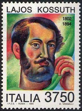 Centenario della morte di Lajos Kossuth - patriota e statista ungherese