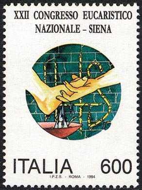 XXII Congresso Eucaristico Nazionale - Siena
