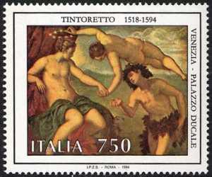 Patrimonio artistico e culturale italiano - 4° Centenario della morte di Jacopo Robusti detto il Tintoretto