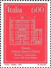 Istituzione dell'Ente Pubblico Economico «Poste Italiane» - Palazzo Querini Dubois - Venezia
