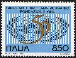Cinquantenario della fondazione dell'ONU