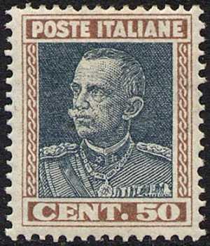 1927 - tipo dello stesso anno, in formato più piccolo