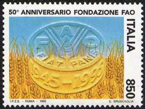 Cinquantenario della fondazione della FAO
