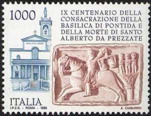 9° Centenario della consacrazione della Basilica cluniacense di Pontida e della morte di S. Alberto da Prezzate - Basilica e sarcofago di S. Alberto