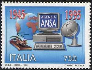 Cinquantenario della fondazione dell'Agenzia ANSA