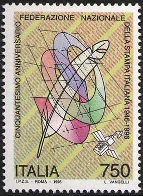Stampa ed editoria - Cinquantenario della Federazione Nazionale della Stampa Italiana