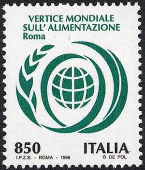 Vertice mondiale sull'alimentazione - Roma - emblema