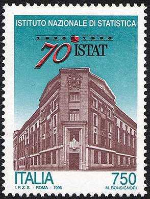 70° Anniversario dell'Istituto Nazionale di Statistica - ISTAT - sede centrale - Roma