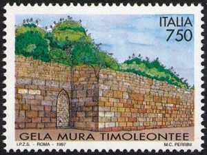 Patrimonio artistico e culturale italiano - Mura archeologiche o Timoleontee di Gela