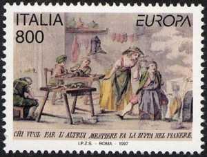 Europa - 42ª serie - Storie e leggende - Bottega di un ciabattino