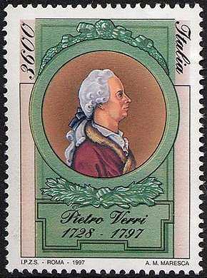 Bicentenario della morte di Pietro Verri - scrittore ed economista