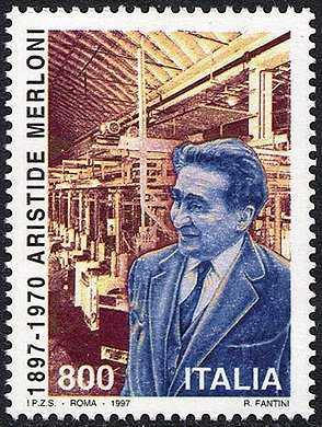 Centenario della nascita di Aristide Merloni - imprenditore