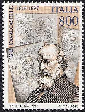 Centenario della morte di Giovan Battista Cavalcaselle - storico dell'arte
