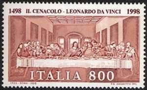 Patrimonio artistico e culturale italiano - 5° Centenario dell'ultimazione de «Il Cenacolo» di Leonardo da Vinci