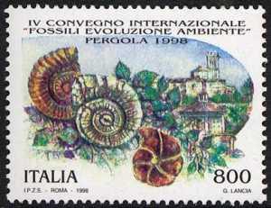 IV Convegno Internazionale «Fossili, Evoluzione, Ambiente» - Pergola