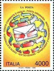 «Italia '98» - Esposizione mondiale di Filatelia, Milano - «Giornata delle Poste»