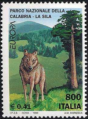 Europa - 44ª serie - Riserve e parchi naturali - Parcho nazionale «della Calabria-Sila»