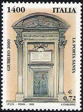 Giubileo del 2000 - La Porta Santa - Basilica di S. Pietro