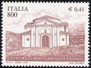 Patrimonio artistico e culturale italiano - Chiesa di S. Egidio - Cellere