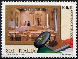 «Le Istituzioni» - Corte Costituzionale - sala delle udienze