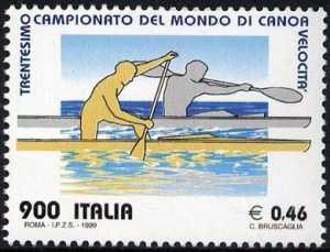 Lo sport italiano - 30° Campionato mondiale di canoa velocità