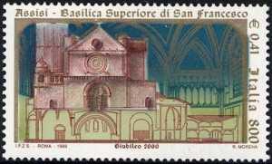 Riapertura della Basilica Superiore di S. Francesco in Assisi - facciata della Basilica