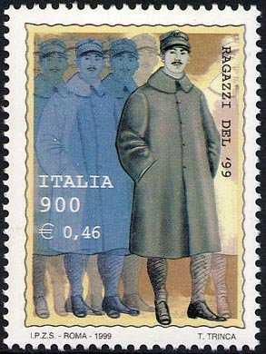 «Ragazzi del '99» - nel centenario della nascita - giovani soldati del 1899