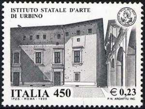 «Scuole ed Università» - Istituto Statale d'Arte di Urbino - facciata