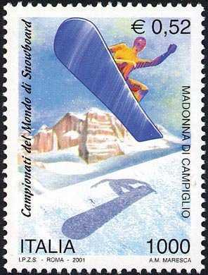 Lo sport italiano - Campionati del mondo di snowboard - Madonna di Campiglio