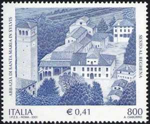 Patrimonio artistico e culturale italiano -  Abbazia di Santa Maria in Sylvis - Sesto al Reghena