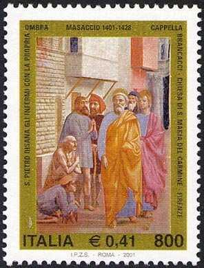 VI° Centenario della nascita di Tommaso di ser Giovanni di Mone Cassai detto Masaccio - pittore - affresco